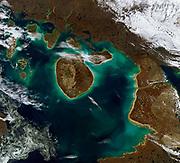 Hudson Bay with Prince Charles Island