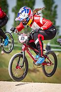 2021 UCI BMXSX World Cup 1&2<br /> Verona (Italy) - Friday Practice<br /> ^we#85 HATAKEYAMA, Sae (JPN, WE) Team_JPN, UCI Centre, Redbull