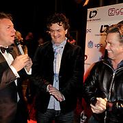 NLD/Hoofddorp/20120320 - Lancering Video on Demand, Rene Mioch, Kasper van Kooten en Danny de Munk