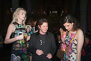 DIANA FARKHULLINA; CHRISTOPHER KANE; EVANGELINE LING, Fashion and Gardens, The Garden Museum, Lambeth Palace Rd. SE!. 6 February 2014.