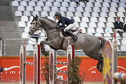 Foulon Marie, BEL, Pickup de Rase<br /> Pavo Hengsten competitie - Oudsbergen 2021<br /> © Hippo Foto - Dirk Caremans<br />  22/02/2021