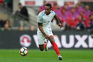 Theo Walcott of England in action. FIFA World cup qualifying match, european group F, England v Malta at Wembley Stadium in London on Saturday 8th October 2016.<br /> pic by John Patrick Fletcher, Andrew Orchard sports photography.