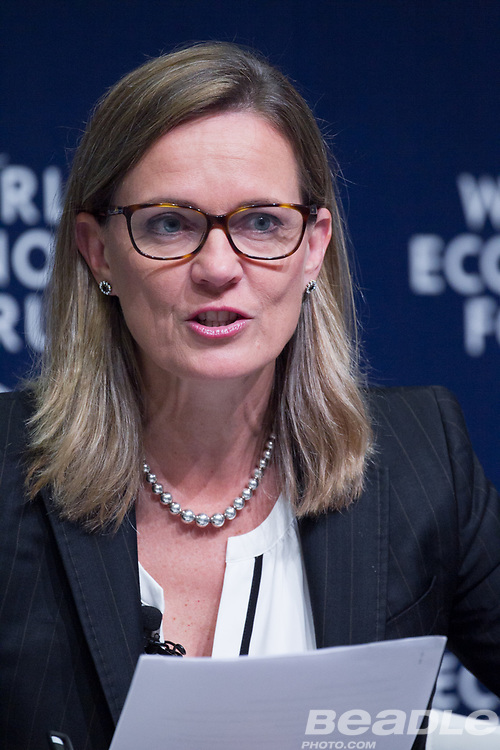 Caroline Kende-Robb, Chief Adviser<br /> Education Commission at the World Economic Forum on Africa 2017 in Durban, South Africa. Copyright by World Economic Forum / Greg Beadle