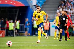 July 7, 2018 - Samara, Russia - 180707 Marcus Berg of Sweden during the FIFA World Cup quarter final match between Sweden and England on Jul 7, 2018 in Samara..Photo: Ludvig Thunman / BILDBYRÃ…N / kod LT / 92083 (Credit Image: © Ludvig Thunman/Bildbyran via ZUMA Press)