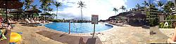 Pool at Sheraton Black Rock Kaanapali, Maui, Hawaii, US