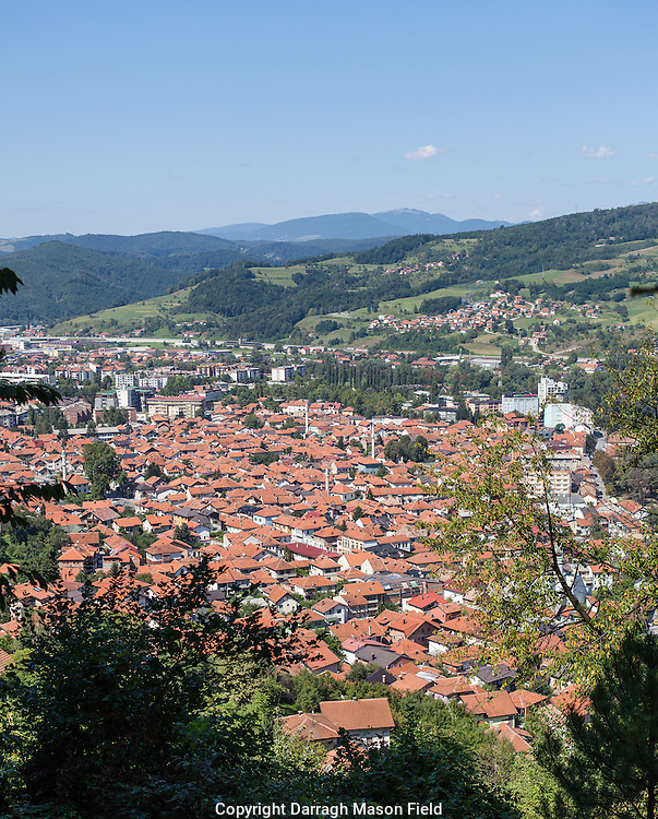 The small town of Visoki, just 30km from Sarajevo.