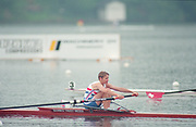 Tampere Kaukajaervi,  FINLAND.  Women's Lightweight Single Sculls, GBR LW1X Sue APPLEBOOM.  competing at the 1995 World Rowing Championships - Lake Tampere, 08.1995<br /> <br /> [Mandatory Credit; Peter Spurrier/Intersport-images] Re-Edited and file ref No. updated, 16th January 2021.
