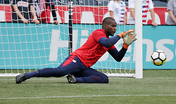 May 28, 2018 - Chester, PA, USA - Chester, PA - Monday May 28, 2018: Bill Hamid during an international friendly match between the men's national teams of the United States (USA) and Bolivia (BOL) at Talen Energy Stadium. (Credit Image: © John Dorton/ISIPhotos via ZUMA Wire)