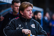 Stuart McCall of Scunthorpe United (Manager) before the EFL Sky Bet League 1 match between Scunthorpe United and Sunderland at Glanford Park, Scunthorpe, England on 19 January 2019.