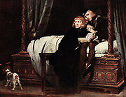 Hippolyte Delaroche (17 July 1797 – 4 November 1856), commonly known as Paul Delaroche, was a French painter born in Paris. The Children of Edward (1831, oil-on-canvas, Louvre). King Edward V and the Duke of York in the Tower of London, by Paul Delaroche
