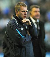 Photo: Paul Thomas.<br />Bolton Wanderers v Manchester City. The Barclays Premiership. 21/01/2006.<br />Man City manager Stuart Pearce.