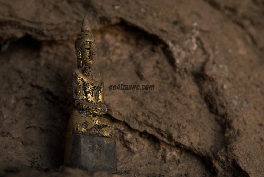 Buddha cave on the mekong river north of Luang Prabang