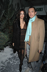 VISCOUNT MACMILLAN and ATRID MUNOZ at a party to present the Fall/Winter Collection 2007/2008 of Moncler the French mountaineering brand held at 10 Mercer Street, London WC2 on 13th February 2007.<br /><br />NON EXCLUSIVE - WORLD RIGHTS