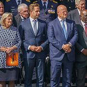 NLD/Den Haag/20180831 - Koninklijke Willems orde voor vlieger Roy de Ruiter, Hugo de Jonge en Minister van Justitie F. Grapperhaus
