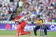 Karl Brown during the NatWest T20 Blast Semi Final match between Hampshire County Cricket Club and Lancashire County Cricket Club at Edgbaston, Birmingham, United Kingdom on 29 August 2015. Photo by David Vokes.
