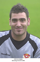 STEVE CORRY KEEPER KETTERING TOWN 2004