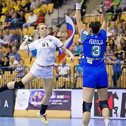 20171001: SLO, Handball -2018 European Women's Championship qualification, Slovenia v Czech Republic