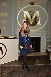 KATIE READMAN at a party to celebrate 25 years of the Magnum ice ream held at home House, 20 Portman Square, London on 26th March 2014.