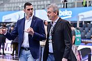 DESCRIZIONE : Trento Beko All Star Game 2016<br /> GIOCATORE : Matteo Soragna Geri De Rosa<br /> CATEGORIA : Ritratto Before Pregame<br /> SQUADRA : Sky Sport TV<br /> EVENTO : Beko All Star Game 2016<br /> GARA : Beko All Star Game 2016<br /> DATA : 10/01/2016<br /> SPORT : Pallacanestro <br /> AUTORE : Agenzia Ciamillo-Castoria/L.Canu