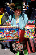 ECUADOR, MARKETS Otavalo famous for textiles  and amp; crafts