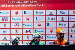 12-01-2019 NED: ISU European Short Track Championships 2019 day 2, Dordrecht<br /> Arianna Sighel #110 ITA, Suzanne Schulting #24 NED