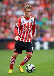13 August 2016 - Premier League - Southampton v Watford - Steven Davies of Southampton - Photo: Marc Atkins / Offside.