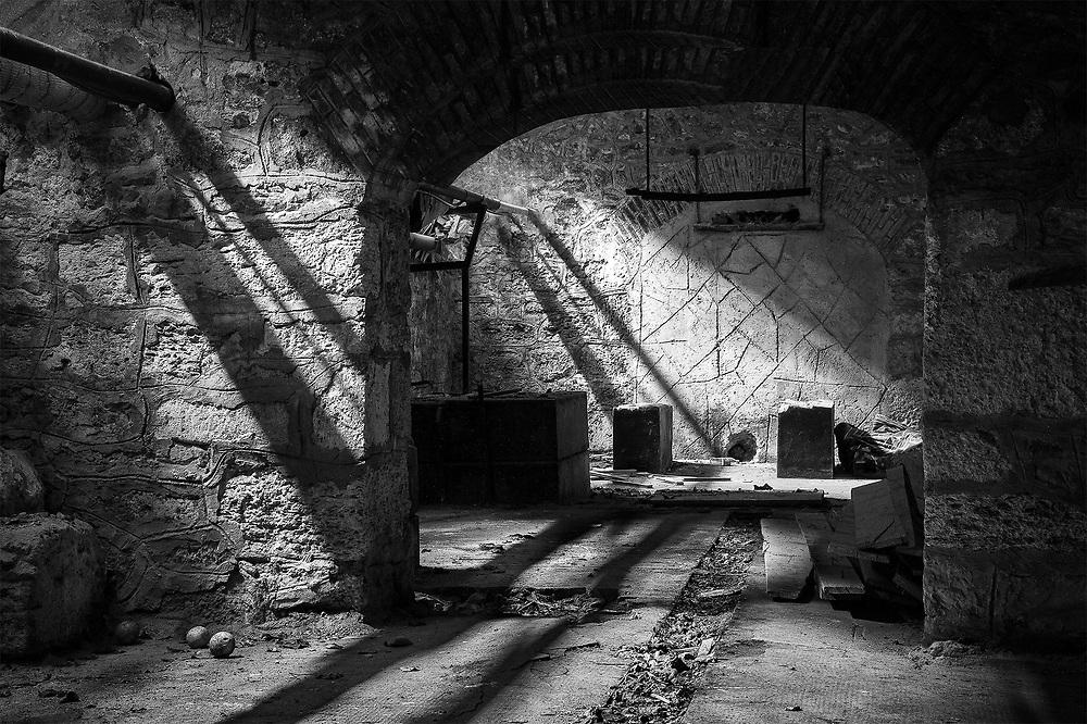 Basement Shadows, Constanta, Romania