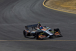 September 14, 2018 - Sonoma, California, United Stated - ZACH VEACH (26) of the United Stated takes to the track to practice for the Indycar Grand Prix of Sonoma at Sonoma Raceway in Sonoma, California. (Credit Image: © Justin R. Noe Asp Inc/ASP via ZUMA Wire)