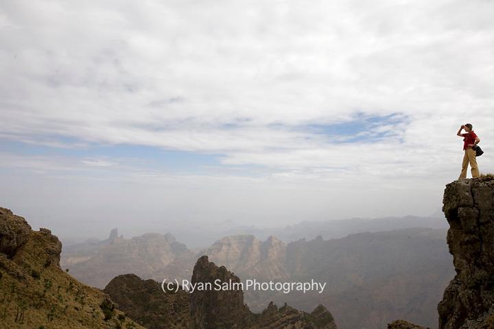 Viewpoint<br /> Simiena Mountains, Ethiopia