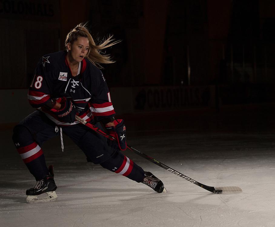 Mackenzie Krasowski (Photo by Justin Berl/Robert Morris Athletics)
