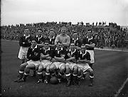 21/09/1955<br /> 09/21/1955<br /> 21 September 1955<br /> League of Ireland v Scottish League at Dalymount Park, Dublin. The Scottish League team.