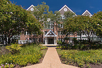 Exterior  Photo of Victoria Senior Apartments in Woodbridge Virginia by Jeffrey Sauers of Commercial Photographics, Architectural Photo Artistry in Washington DC, Virginia to Florida and PA to New England