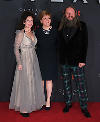 Outlaw King Premiere, Edinburgh, Friday 19th October 2018<br /> <br /> Outlaw King is a Netflix film and follows 14th century Scottish king Robert the Bruce prior to his coronation and through to his rebellion against the English, who at the time were occupying Scotland.<br /> <br /> Stars, crew and guests appear on the red carpet for the Scottish premiere.<br /> <br /> Pictured: Producer Gillan Berrie, First Minister Nicola Sturgeon and director David Mackenzie<br /> <br /> Alex Todd | Edinburgh Elite media