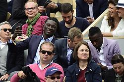 May 28, 2019 - Paris, France, FRANCE - Bafetimbi Gomis / Blaise Matuidi (Credit Image: © Panoramic via ZUMA Press)