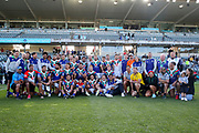 Warriors players and staff. Vodafone Warriors v Manly Sea Eagles. NRL Rugby League, Central Coast Stadium, Gosford, NSW, Australia, Sunday 27th September 2020 Copyright Photo: David Neilson / www.photosport.nz