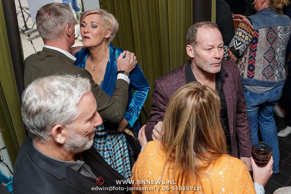 NLD/Amsterdam/20190308 - Boekpresentatie Gerard van der Lem, Danny Blind en partner Yvonne