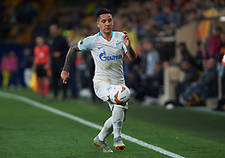 March 14, 2019 - Vila-Real, Castellon, Spain - Sebastian Driussi of Zenit Saint Petersburg during the Uefa Europa League round of 16 second leg match between Villarreal and Zenit Saint Petersburg at Estadio de la Ceramica on March 14, 2019 in Vila-real Spain. (Credit Image: © AFP7 via ZUMA Wire)
