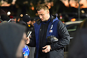 Artur Boruc (1) of AFC Bournemouth arriving at the Vitality Stadium before the Premier League match between Bournemouth and Chelsea at the Vitality Stadium, Bournemouth, England on 30 January 2019.