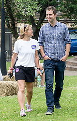 Widower Brendan Cox and sister Kim Leadbeater of murdered MP Jo Cox, attend a Great Get Together event marking the anniversary of Mrs Cox's death, at The Green in Heckmondwike, Yorskshire.