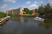 Newark castle on the River Trent, Nottinghamshire, England