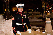 "Wisconsin USA, ""Celebration of lights"" Christmas celebration in Milwaukee, WI. Collecting toys for poor children, December 2006"