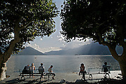 svizzera, Ascona..........Switzerland,  Canton Ticino, Ascona, the lakefront  gardens Lake Maggiore and its valleys are alpine landscapes that merge into typically Mediterranean scenery, where popular traditions are combined with internationally renowned events, and villages, in which time seems to have stood still, peep down from their lofty peaks on towns that are looking to the future. Fascinating contrasts that make this a unique region