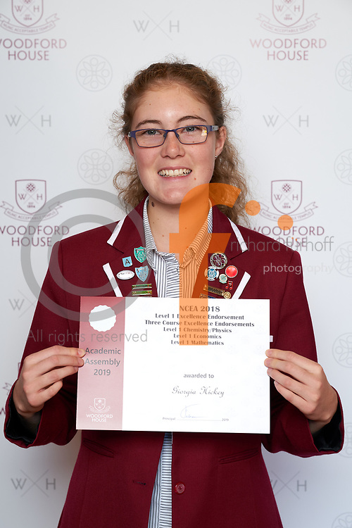Woodford House Academic Assembly - Award Recipients