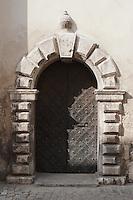 Old doorway in Kazimierz Krakow Poland