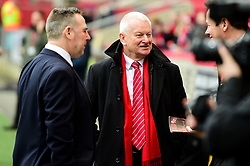 Steve Lansdown prior to kick off  - Mandatory by-line: Ryan Hiscott/JMP - 17/02/2019 - FOOTBALL - Ashton Gate Stadium - Bristol, England - Bristol City v Wolverhampton Wanderers - Emirates FA Cup fifth round proper