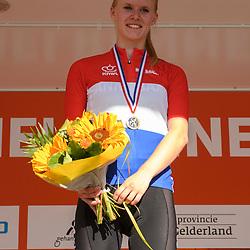 18-06-2017: Wielrennen: NK Paracycling: Montferland<br /> s-Heerenberg (NED) wielrennen Podium Vrouwen C 1-5 Caroline Groot