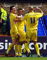 Photo: Ashley Pickering.<br />Ipswich Town v Preston North End. Coca Cola Championship. 17/10/2006.<br />Simon Whaley celebrates his winning goal for Preston