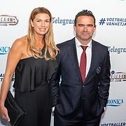 NLD/Hilversum/20190902 - Voetballer van het jaar gala 2019, Marc Overmars en partner Chantal van Woensel