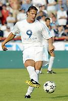 Fotball<br /> Oppkjøring til sesongstart i Frankrike 2003/2004<br /> Foto: DPPI/Digitalsport<br /> <br /> NORWAY ONLY<br /> <br /> FOOTBALL - SEASON 2003/2004 - FRIENDLY GAME - OLYMPIQUE MARSEILLE v TOULOUSE FC - 030713 - DANIEL VAN BUYTEN (OM) - PHOTO GUY JEFFROY / FLASH PRESS