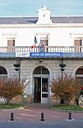 The Bergerac train station. Bergerac Dordogne France